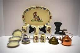 Bavarian Child's Mug Set, Dayton C.I. Scale, Etc.