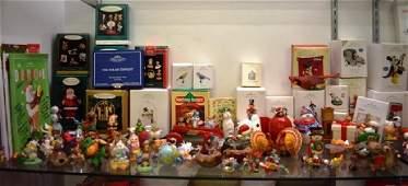 Showcase Shelf Hallmark Ornaments