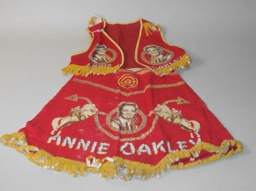 1007: Annie Oakley Childs Two Piece Outfit