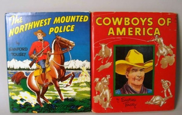 1009: Northwest Mounted Police, Cowboys of America book