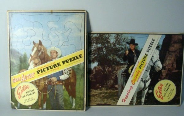 1010: Gene Autry and Hopalong Cassidy Puzzles