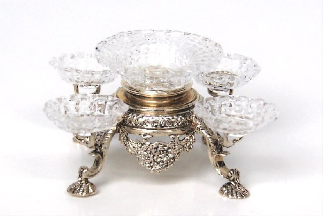 Acquisto Silver Epergne Dollhouse Miniature