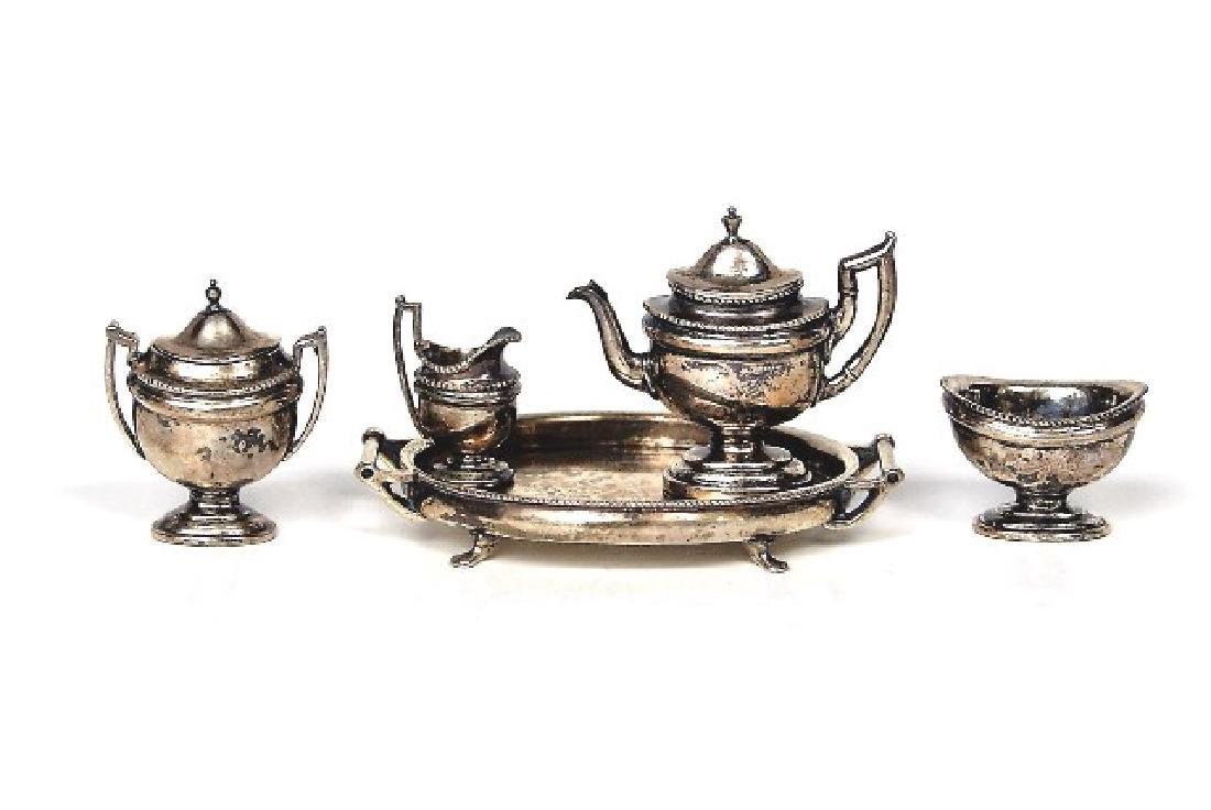 Acquisto Silver Federal Tea Service Dollhouse