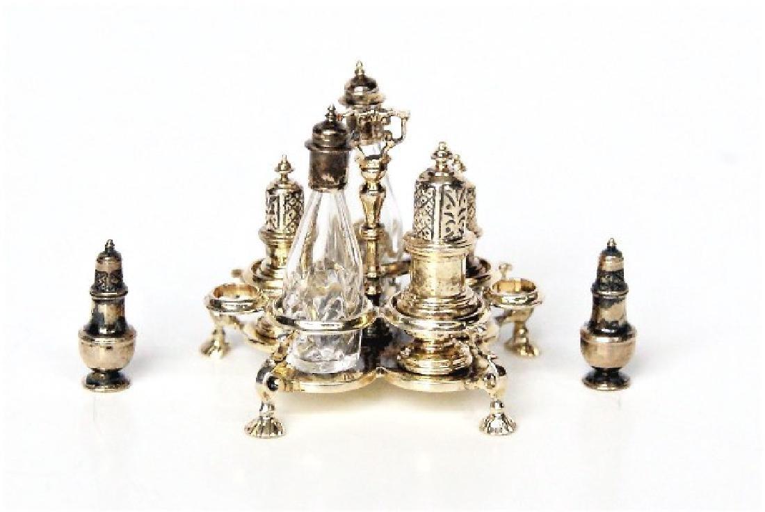 Acquisto Silver Cruet Set & Shakers Dollhouse