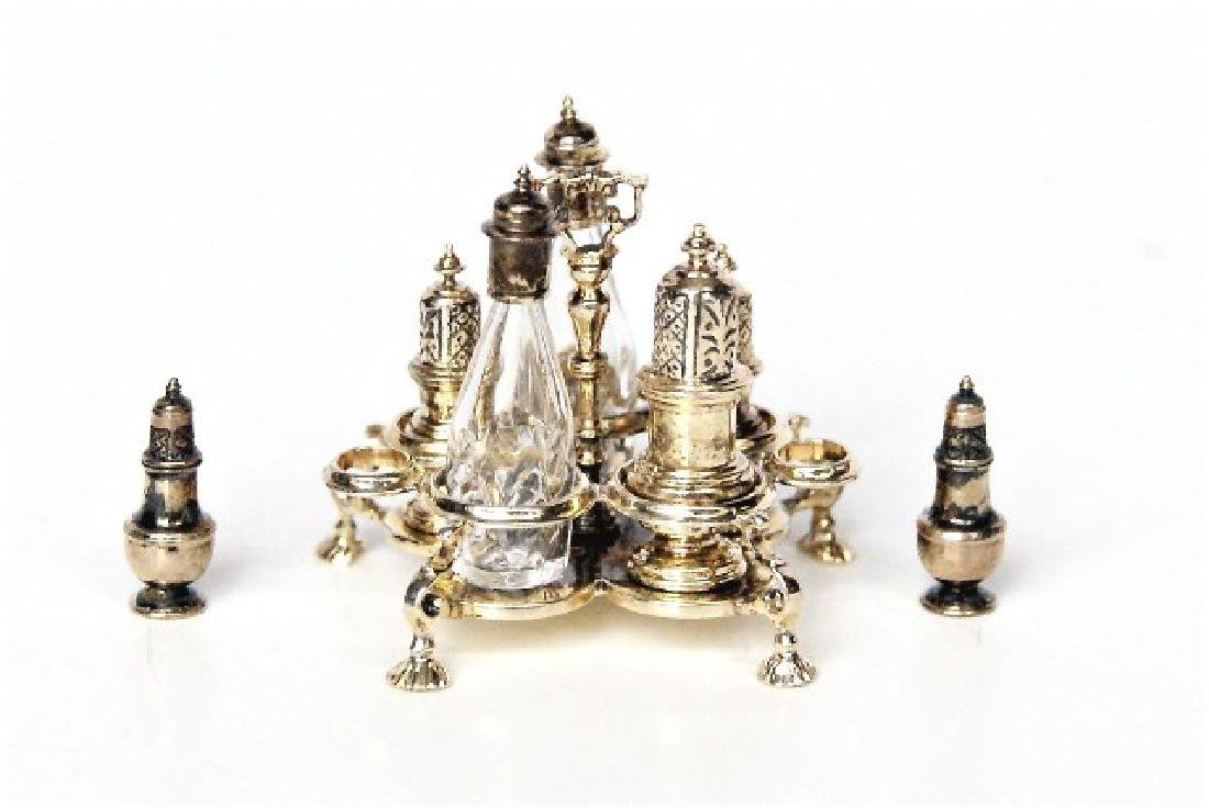 Acquisto Silver Cruet Set & Shakers Dollhouse