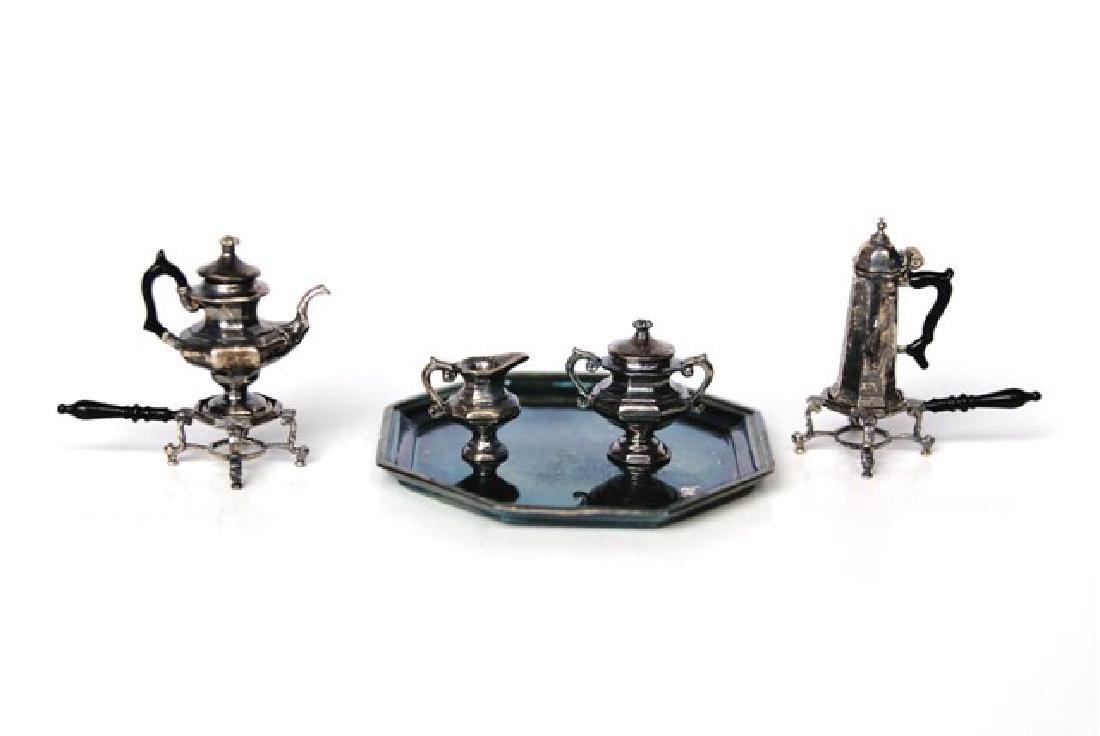 Acquisto Silver Tea & Coffee Service Dollhouse
