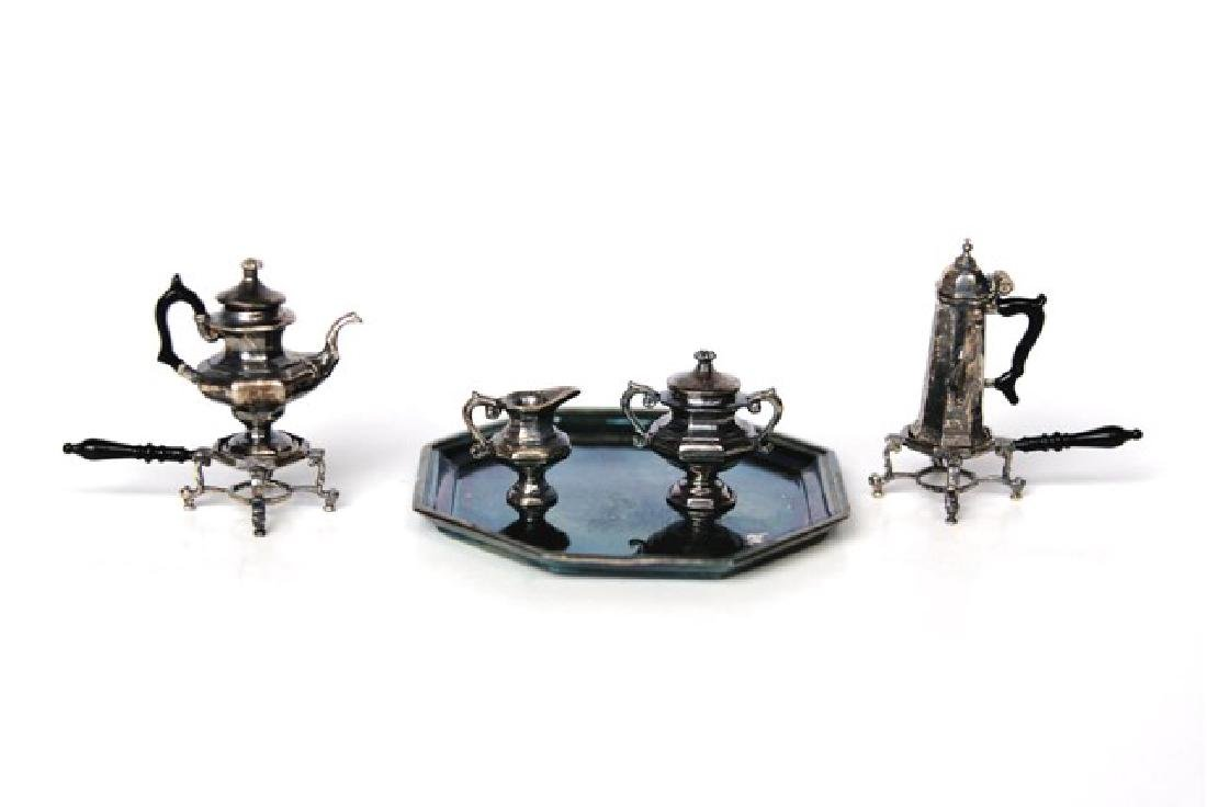 Acquisto Silver Tea & Coffee Service Dollhouse