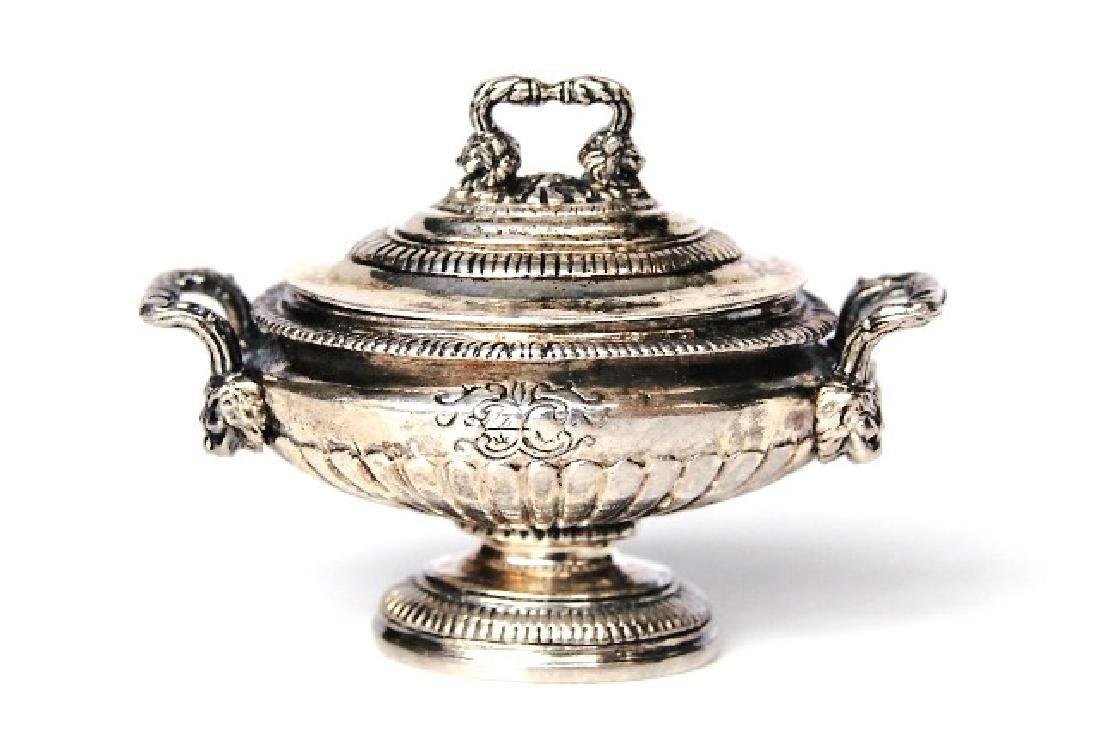 Obadiah Fisher Silver Covered Tureen Dollhouse