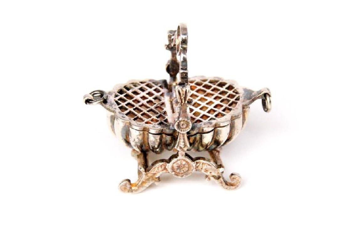 Jens Torp Sterling Basket & Dish Cross Dollhouse - 2