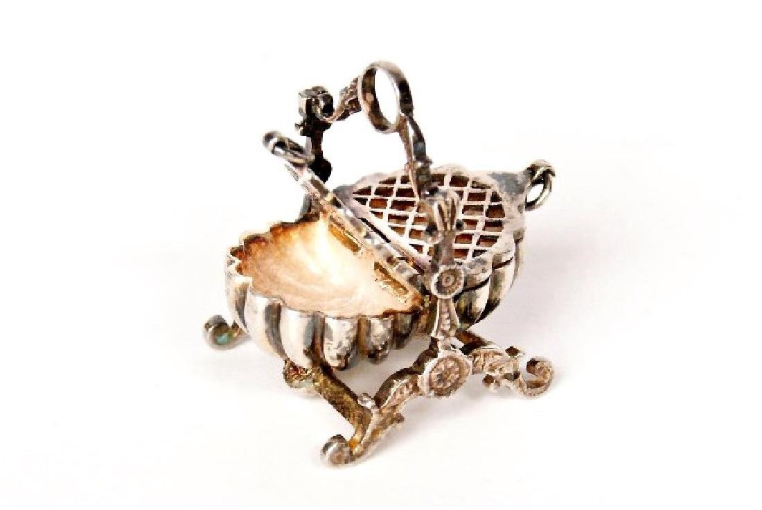 Jens Torp Sterling Basket & Dish Cross Dollhouse - 3