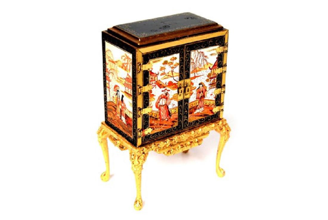 Rosemarie Torre Chinoiserie Collector's Cabinet