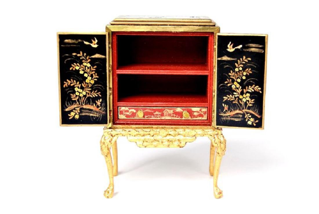 Rosemarie Torre Chinoiserie Collector's Cabinet - 2