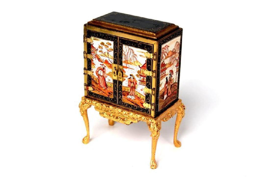 Rosemarie Torre Chinoiserie Collector's Cabinet - 3