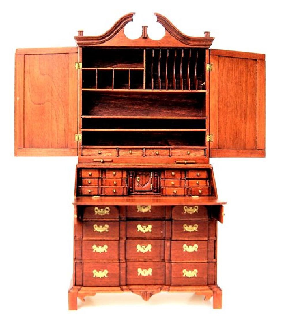 Drinkwater Block Front Secretary Desk