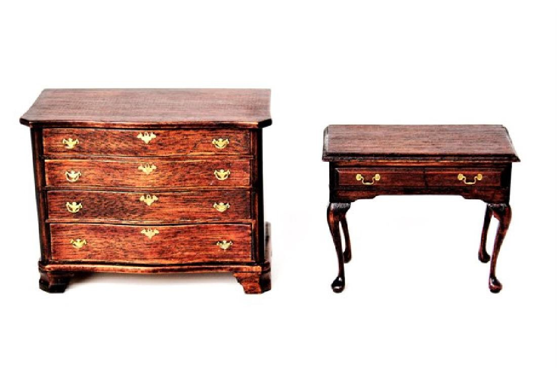 Drinkwater Mahogany Dresser & Dressing Table