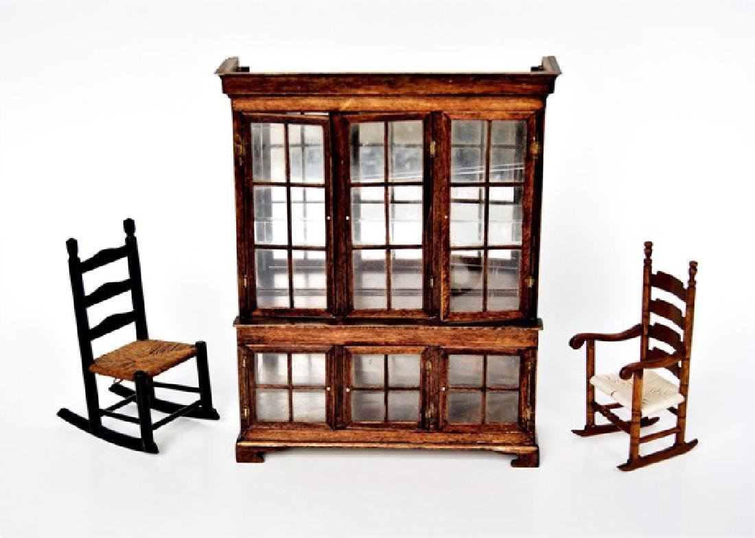 Drinkwater Oversized Cabinet & Chairs Dollhouse