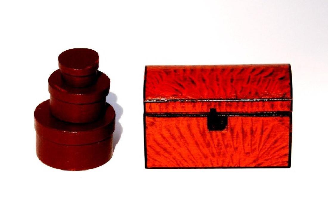 Renee Bowen Trunk & Boxes Dollhouse Miniatures