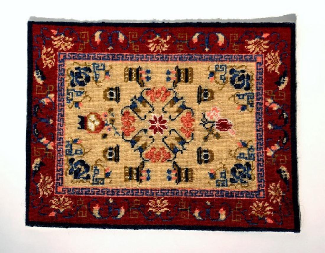Handmade Dollhouse Persian Carpet