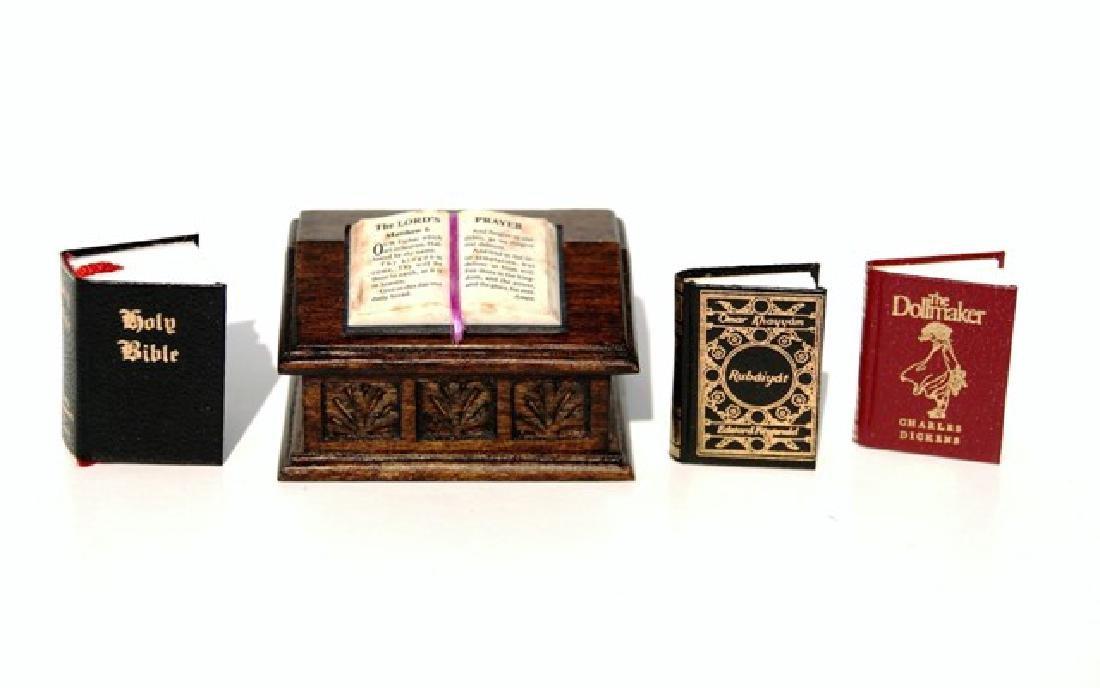 Barbara Raheb Bible, Bible Box & Books