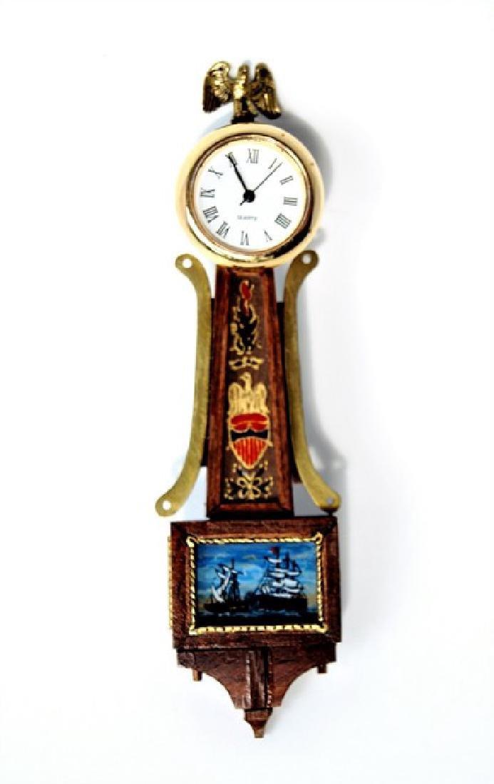 Orvin Fjare Banjo Clock for Dollhouse