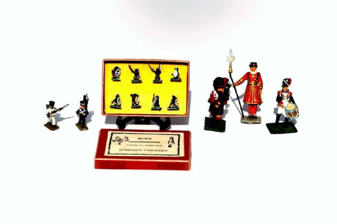 Dollhouse Miniature Lead Soldiers