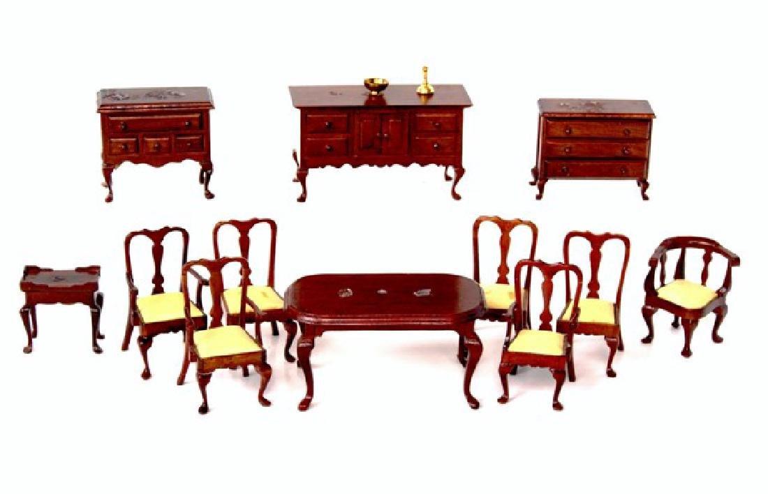 "Collector Miniatures 1/2"" Scale Furniture"