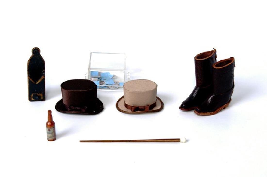 Gentleman's Dollhouse Accessories