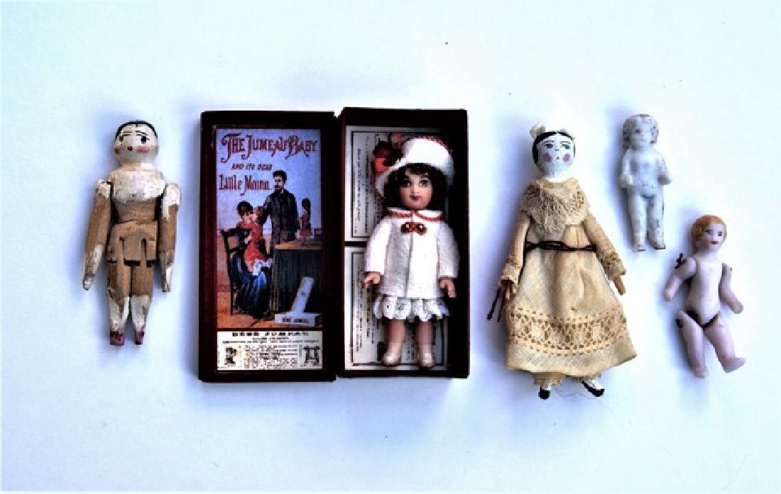 Miniature Jumeau Doll & Others