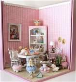 Easter Rabbit Room Diorama