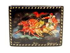 Russian Lacquer Miniature Box