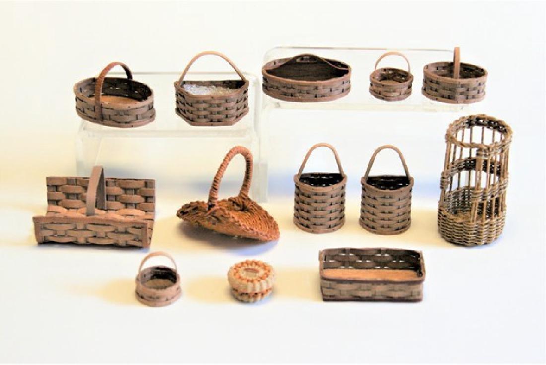Al Chandonnait & Rankin Miniature Baskets