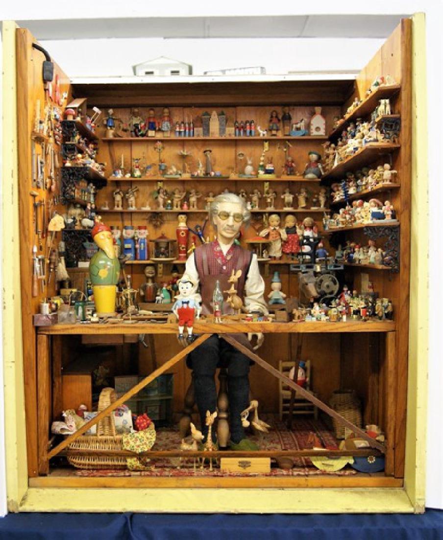 Mister Geppetto & Pinocchio Mott's Museum Room Box