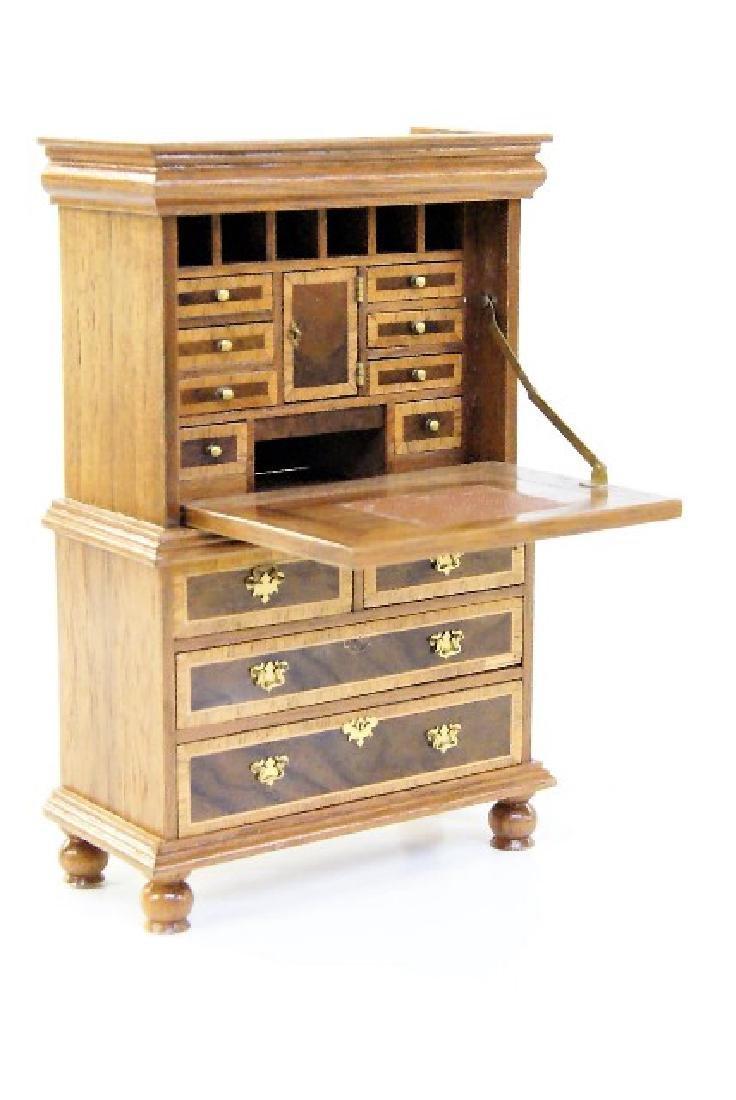 Geoffrey Wonnacott Tall Secretary Miniature