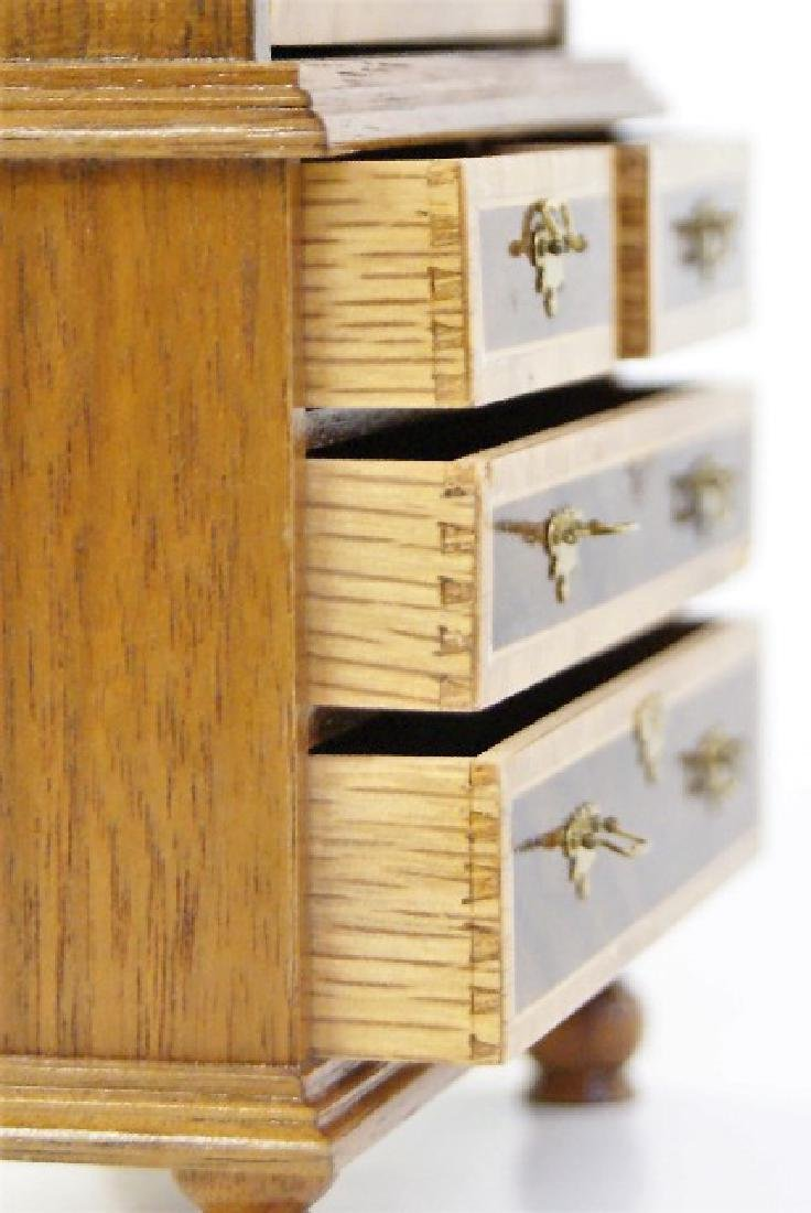 Geoffrey Wonnacott Tall Secretary Miniature - 5