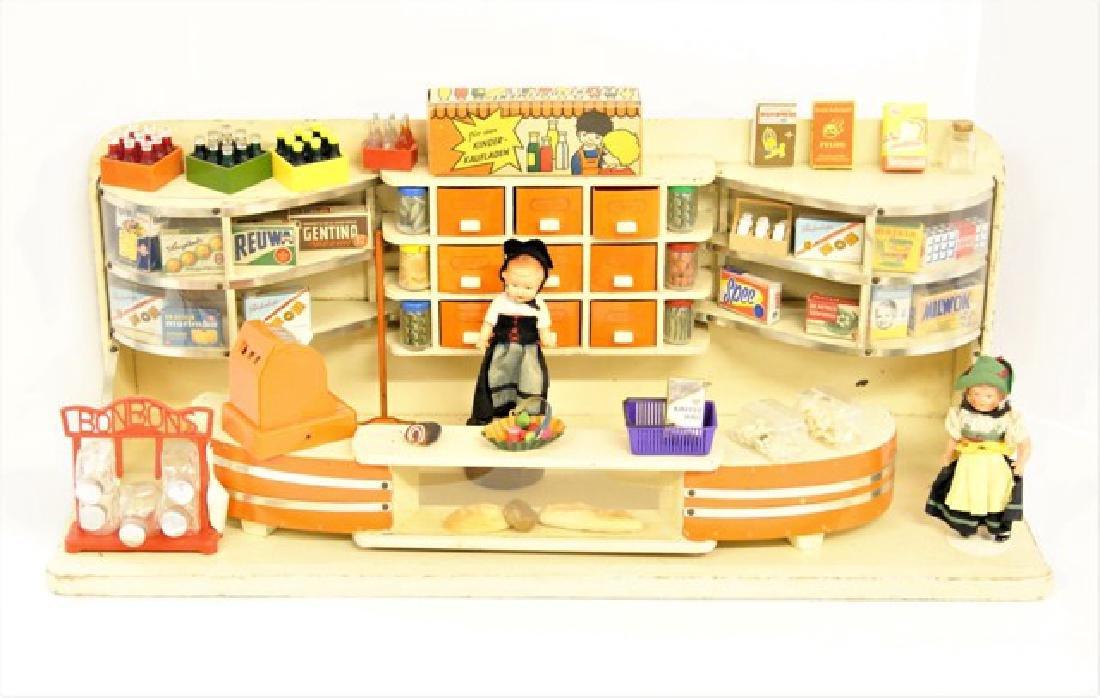 Vintage Toy German Store Diorama