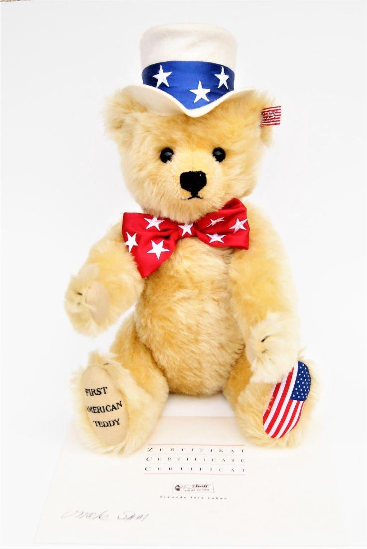 Steiff 1st American Teddy Bear LE 667183 - 2