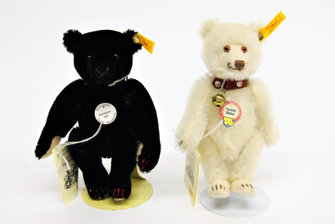 Steiff Teddy Bear Miniature Replicas Black & White