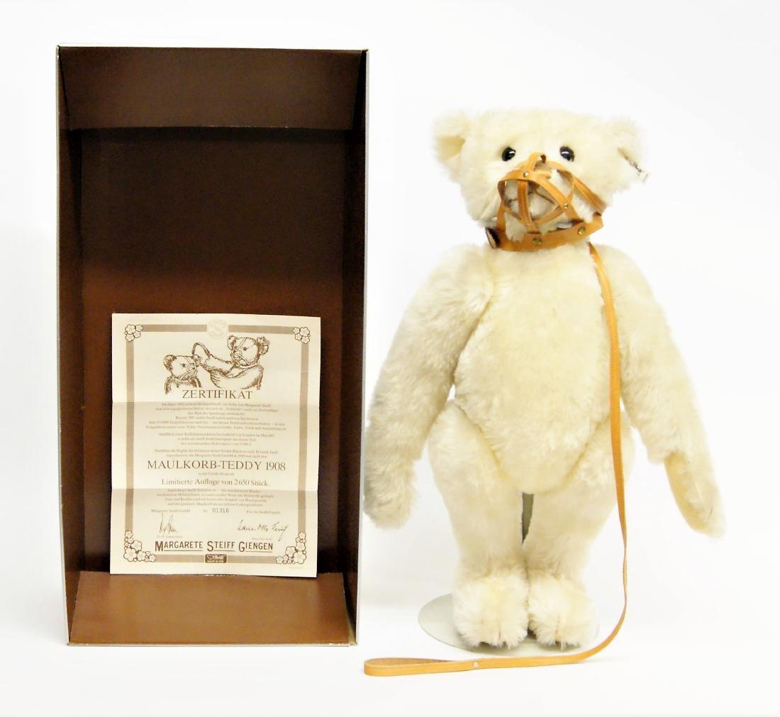 "Steiff Muzzle Bear Replica 23"" LE 406188"