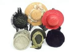 Lot Doll Hats