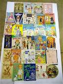 Large Paper Doll and Vogue Picture