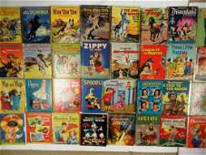 Vintage Golden Books and others