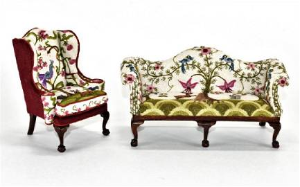 Betty Valentine Chippendale  Sofa & Chair