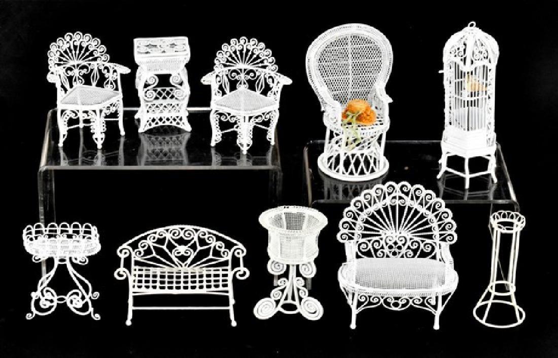 Artisan Patio Furniture Dollhouse Miniatures