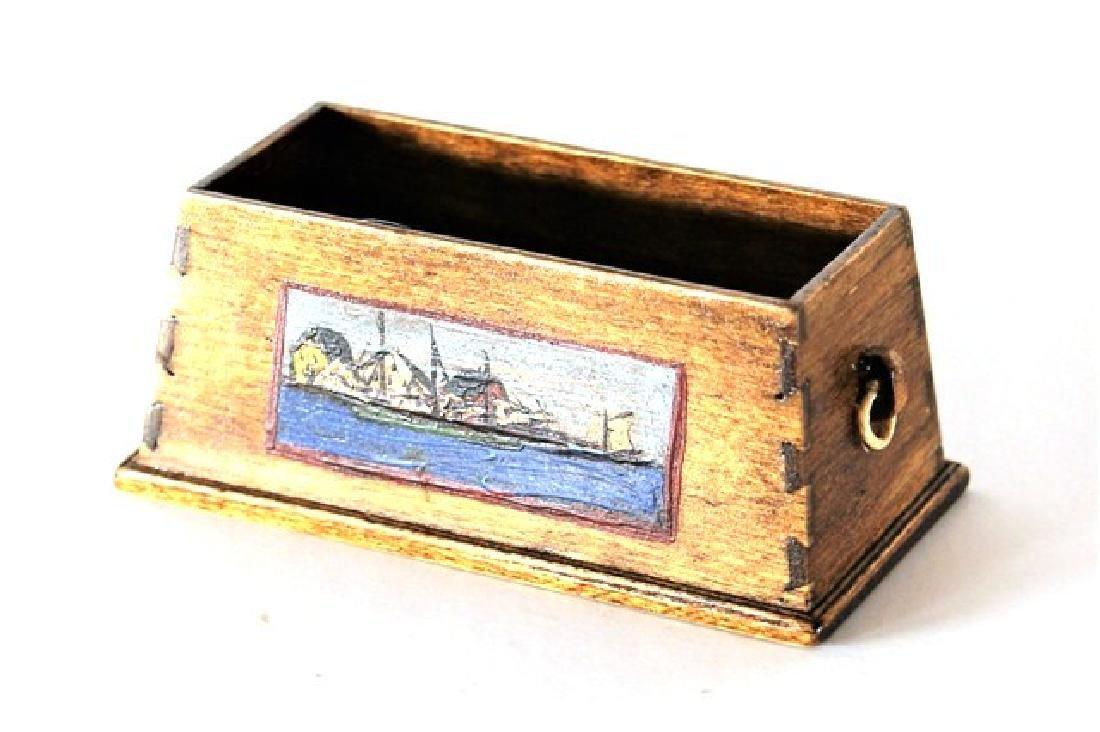 B. Davis Toybox, Rocker & Cabinet Dollhouse Miniatures - 3