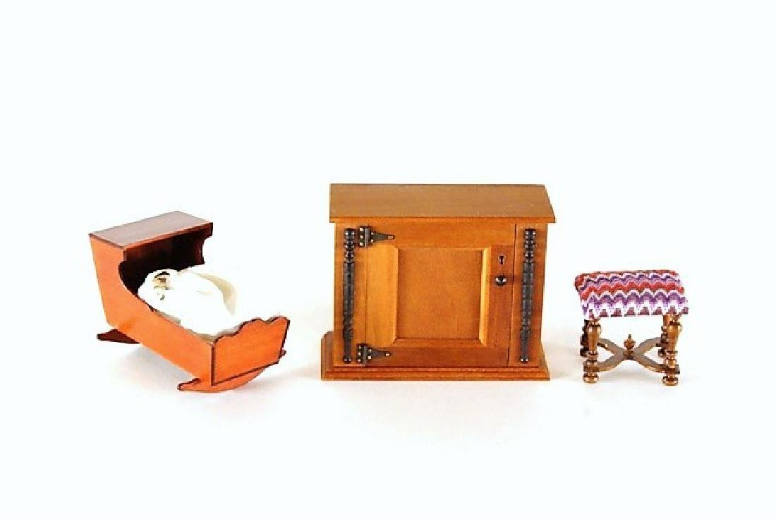 Warren Dick & George Passwaters Dollhouse Furniture