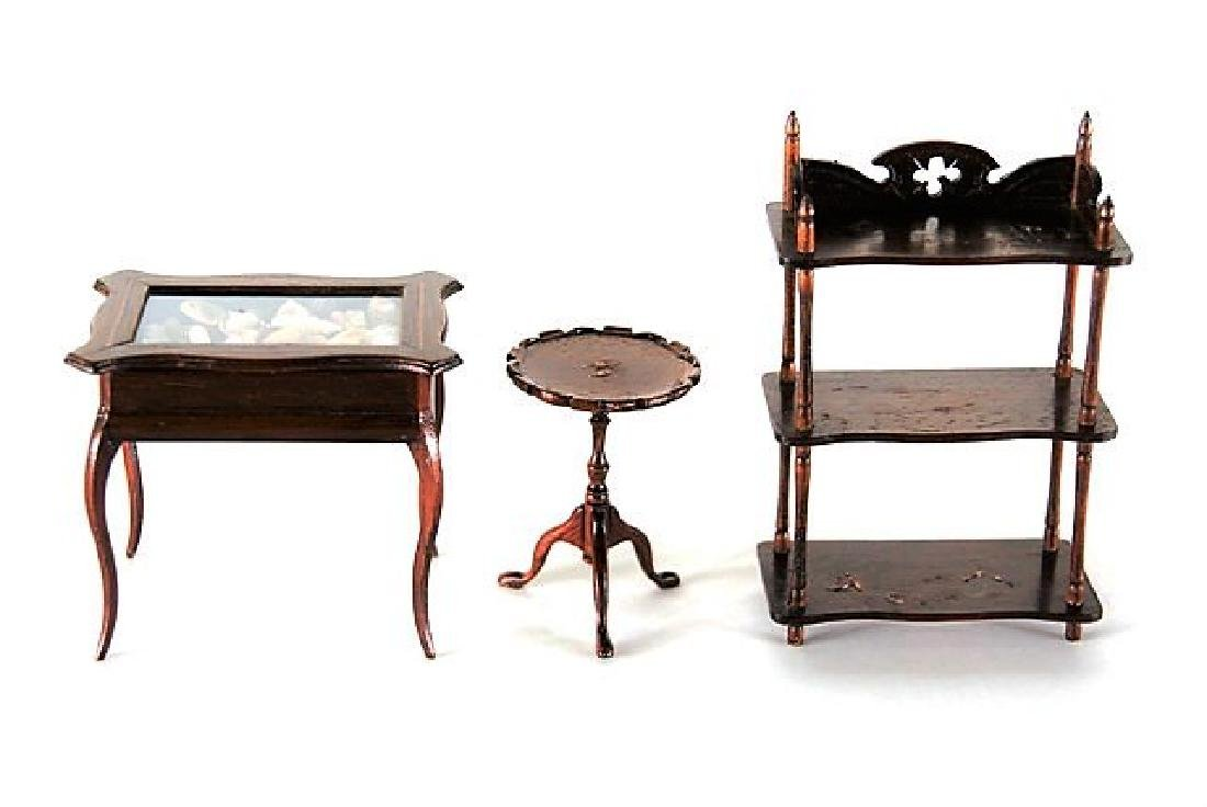 Dennis Jenvey Display Case, Table, Shelf Dollhouse