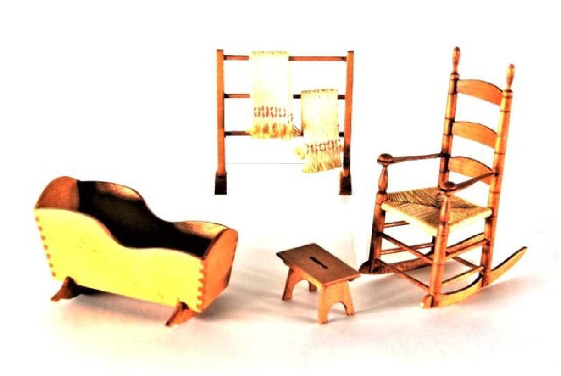 George Hoffman Shaker Furniture Dollhouse Miniatures