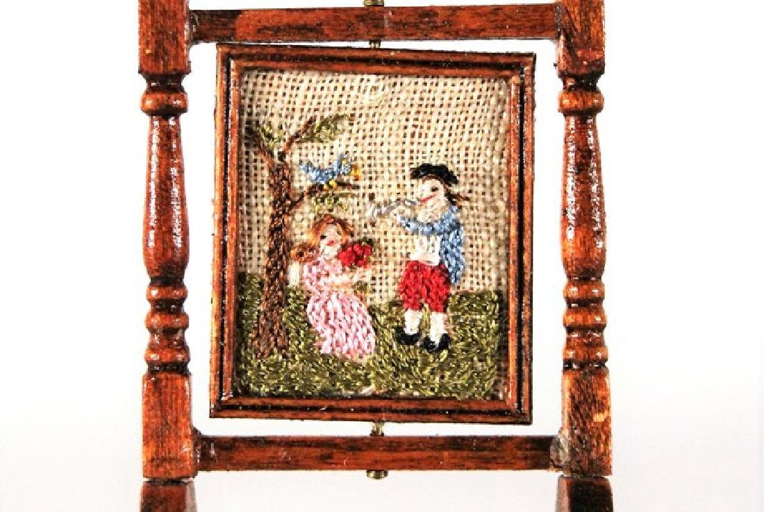 Carol Hardy Embroidery & Others Dollhouse Miniatures - 2