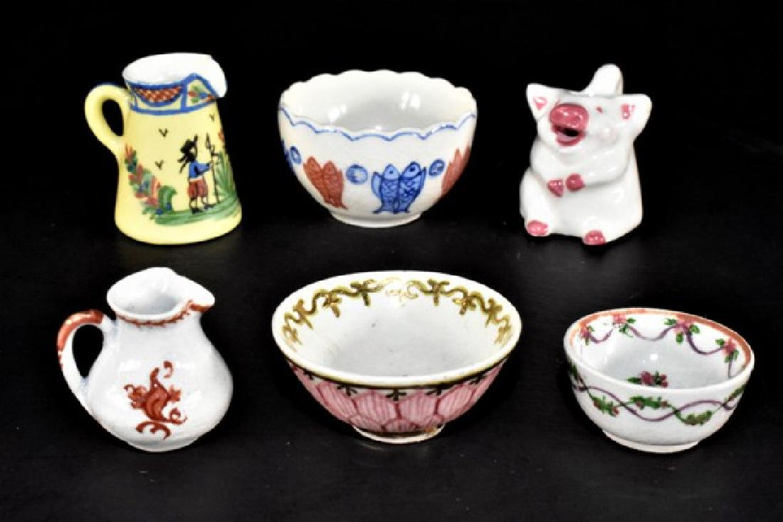 Deborah McKnight Bowls & Jugs Dollhouse Miniatures