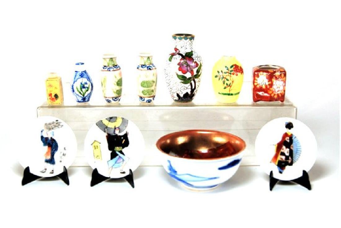 Japanese Style China Dollhouse Miniatures - 2